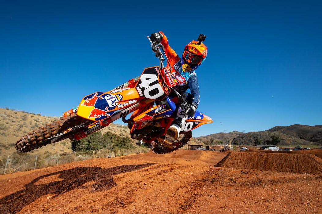 Troy Lee Designsred Bullktm Lucas Oil Pro Motocross