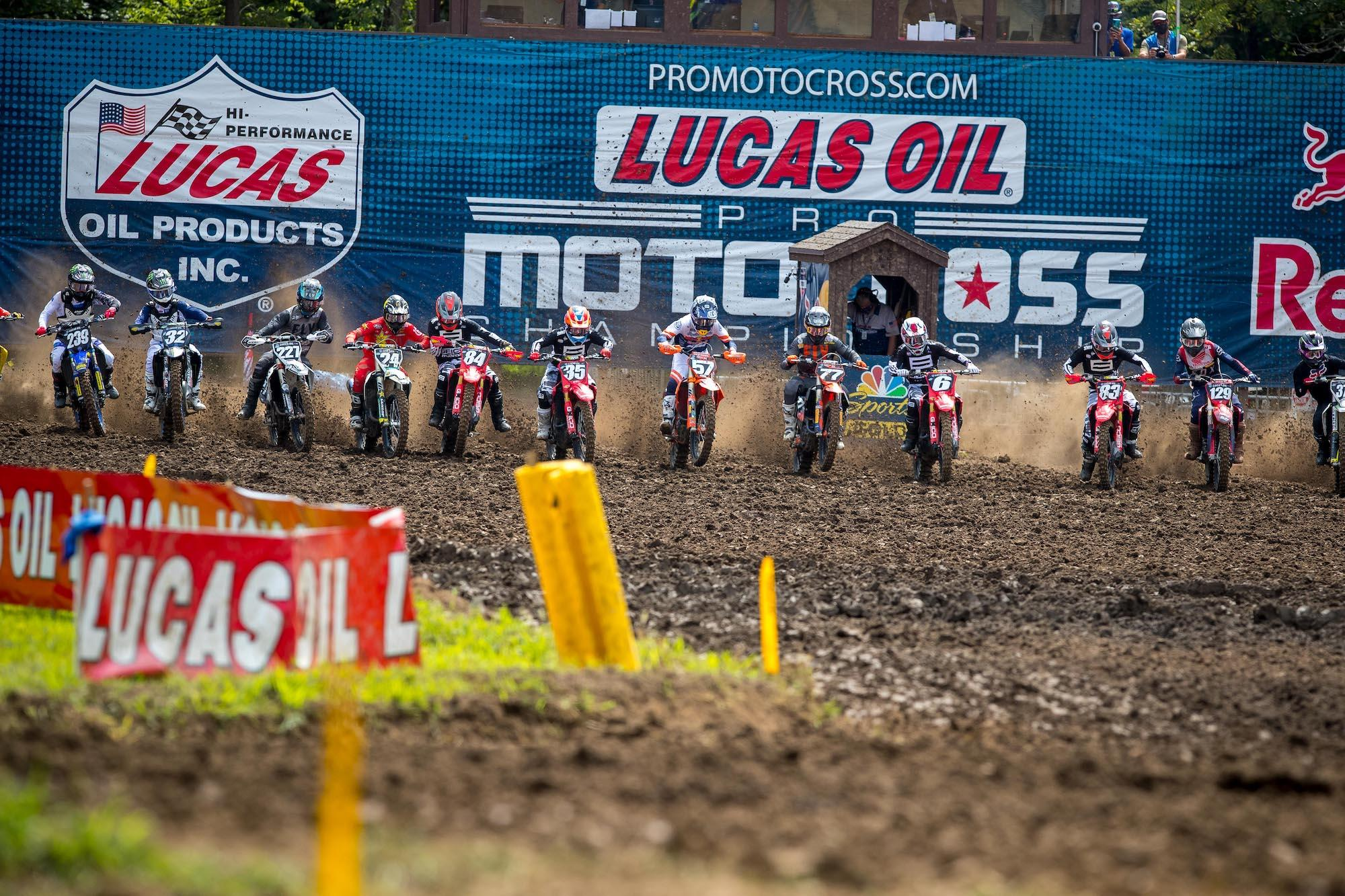Lucas Oil Production Studios will help bring the action to the passionate motocross audience, with extensive live broadcasts on MAVTV and NBC Sports, plus live streaming via Peacock.